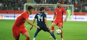 Hazırlık maçı: Türkiye: 0 - Bosna Hersek: 0 (Maç sonucu)