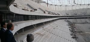 Spor Genel Müdürü Baykan, Yeni Adana Stadı'nı inceledi