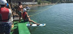İzmit Belediyesi'nden wakebord eğitimi