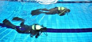 NEÜ'de donanımlı dalış dersleri ile arama kurtarma eğitimleri başladı