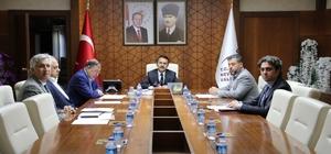 Acıgöl OSB Yönetim Kurulu toplantısında içme ve kullanma suyu konusu görüşüldü