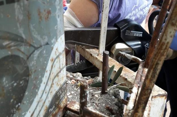 ANTALYA Koluna saplanan korkuluk demiriyle hastaneye götürüldü ile ilgili görsel sonucu