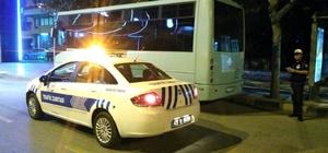 Şehir içine park eden otobüslere cezai işlem