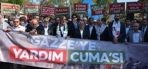 Bursa'dan Gazze'ye destek