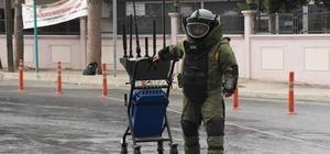 Şüpheli sırt çantası polisi alarma geçirdi Mersin'de kaldırımın üzerinde unutulan sırt çantası korkulu dakikalar yaşattı