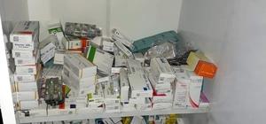 Kayseri'de kaçak ilaç operasyonu
