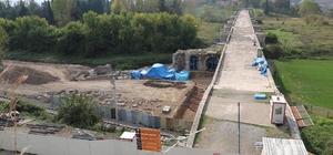 Tarihi köprüde yapılan çalışmada yeni bulgular ortaya çıktı Justinianus köprüsündeki çalışmalarda haç işlemesi ortaya çıktı