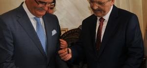 Başkan Şahin'den Yusuf Ziya Yılmaz'a raylı sistem teşekkürü