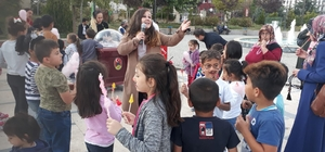 """Belediyeden çocuklara özel """"park etkinliği"""""""