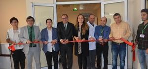Düzce Üniversitesi Hastanesi'ndeki özel servisin açılışı gerçekleştirildi