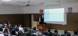 Strateji Geliştirme Dairesi Başkanı Veysel Çıplak öğrencilerle buluştu