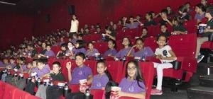 Adanalı öğrencilerin sinemayla tanışma mutluluğu