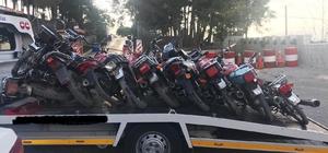 Gaziantep'te motosiklet hırsızlarına operasyon: 6 gözaltı