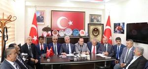 Şehit ve Gazi Dernekleri Başkanları Kırşehir'de istişare toplantısında buluştu