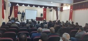 Milli Eğitim Müdürü Kaya, veli toplantısına katıldı
