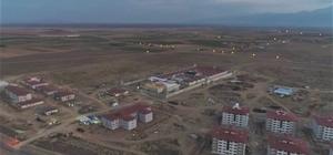 Afyonkarahisar'da inşa edilen cezaevinde sona doğru Çalışmalar havadan görüntülendi