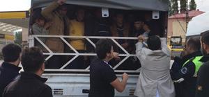 Van'da 57 düzensiz göçmen yakalandı
