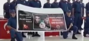 Şehit Bedirhan'ın babasına askerlerinden sürpriz Kayseri İl Jandarma Komutanlığında askerlik yapan kısa dönem erler yemin töreninde PKK'lı teröristlerinin yola döşediği patlayıcının infilak etmesi sonucu şehit olan Nurcan Karakaya ve bebeği Bedirhan Mustafa Karakaya'yı unutmadı. Yemin töreninin sonunda şehit anne ve bebeğinin fotoğrafının bulunduğu pankartı açan asker duygusal anlar yaşattı