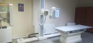Gölköy Devlet Hastanesinde yeni röntgen ünitesi hizmete girdi