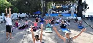 Kaleiçi'nde yoga