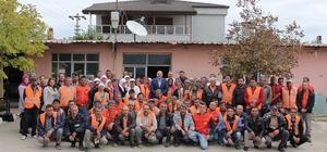 Başkan Ertürk, belediye çalışanları ile kahvaltıda buluştu
