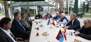 Trabzon Valisi Yavuz'dan Ünal Karaman'a başsağlığı ziyareti