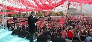 """Cumhurbaşkanı Erdoğan, """"İş Bankası hissesi Meclise gelecek, MHP de buna destek verecek"""" """"Teröre bulaşmış belediye başkanı adayları olursa kayyum atanan yerlerdeki gibi Türk hukuk sistemini işleteceğiz"""""""