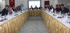 Elazığ da Oda ve Borsa Bölge İstişare Toplantısı