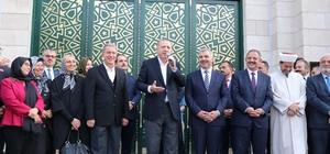 Cumhurbaşkanı Erdoğan Orgeneral Hulusi Akar Camii'ni açtı