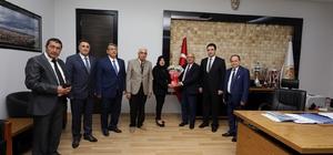 Afyonkarahisar Basın Yayın Derneği'nden Başkan Çoban'a ziyaret