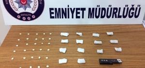 Antalya'da genetiğiyle oynanarak ölümcül derecede etkisi artırılmış uyuşturucu ele geçirildi Antalya'da hibrit uyuşturucuya 2 tutuklama