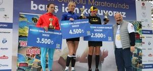 Türkiye'nin barış temalı ilk ve tek maratonu binlerce kişinin katılımıyla gerçekleştirildi Turkcell Gelibolu Maratonu yine 'Barış'ın buluşma noktası oldu