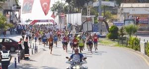 Didim'de ilk kez yarı maraton heyecanı yaşandı