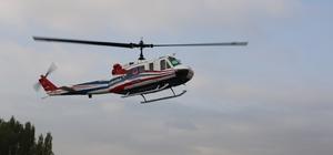 Jandarma'dan helikopterli trafik denetimi Hava ve kadan yapılan denetimlerde 883 araç kontrol edilirken, trafik kurallarına aykırı davranan 33 kişiye 5 bin 87 lira para cezası uygulandı