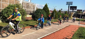 İzmit Belediyesi'nden bisiklet eğitimi