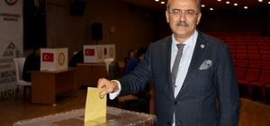 Samsun Baro'su 3. kez Gürbüz'e emanet Av. Kerami Gürbüz, yeniden Samsun Barosu Başkanı seçildi