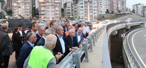 Bakan Turhan, Trabzon'daki ulaşım yatırımlarını inceledi
