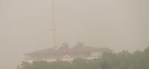 Araban'da toz bulutu etkili oldu