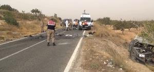 Otomobillerin çarpıştığı kazada karayolu savaş alanına döndü: 2 ölü, 5 yaralı