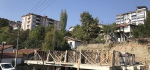 Karabük'te toprak kayması