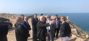 Vali Çınar, hafriyat döküm alanını inceledi