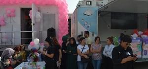Kadınlara meme kanseri taraması yapıldı