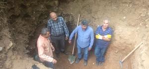Bursa'da izinsiz kazı operasyonu