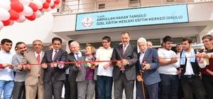 Elazığ'da hayırsever ailenin desteğiyle yapılan okul açıldı