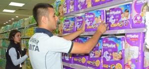 Mardin'de marketlerde haksız kazanç denetimi Zabıta ekipleri fırsatçıların peşinde