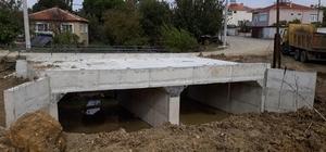 Suluca ve Beybaş köyleri köprü inşası tamamlandı