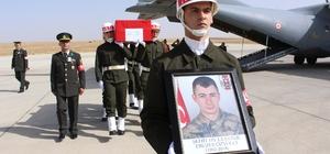Kazada şehit olan Er Özyolci, Ağrı'da toprağa verildi