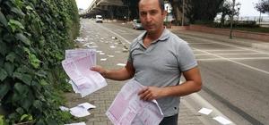Öğrencilerin sınav kağıtları yollara saçıldı İl Milli Eğitim Müdürlüğünden konuyla ilgili yapılan açıklama yapıldı