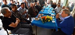 Başkan Kocaoğlu, teşekkür turuna Menderes'ten başladı