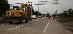 Cevizdere Köprüsü trafiğe açıldı